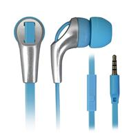 TECHMADE AURICOLARI CON MICROFONO LIGHT BLUE