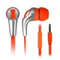 TECHMADE AURICOLARI CON MICROFONO ORANGE