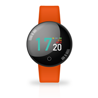 TECHMADE SMARTWATCH JOY COLOR WATERPROOF ORANGE CON CARDIO