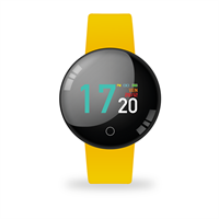 TECHMADE SMARTWATCH JOY COLOR WATERPROOF YELLOW CON CARDIO