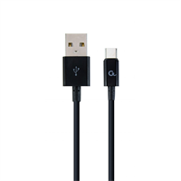 TECHMADE CAVO GEMBIRD TYPE C-1MT BLACK-CHARGING AND DATA CABLE