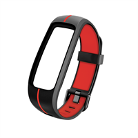 TECHMADE CINTURINO FIT2.0 BLACK RED