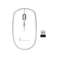 TECHMADE MOUSE WIRELESS BIANCO